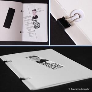 Bewerbungsdesign vom trendsetter Fotostudio Chemnitz dem Bewerbungsspezialisten in Sachsen