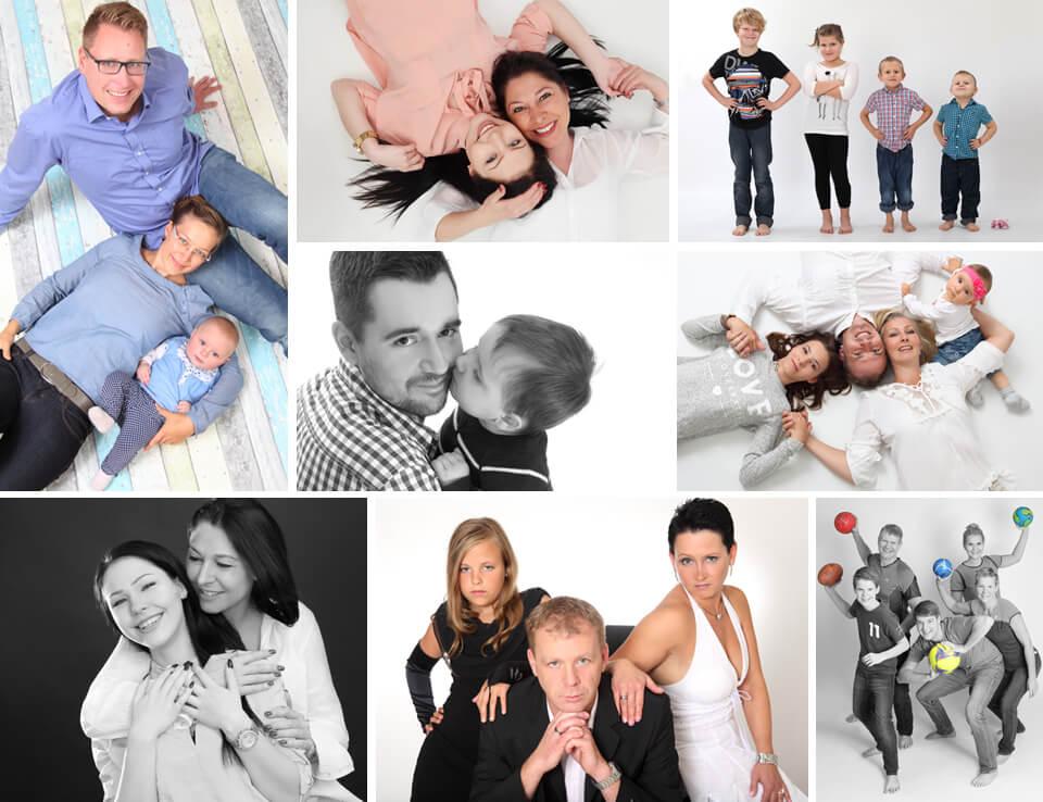 Familien Fotoshooting im trendsetter Fotostudio