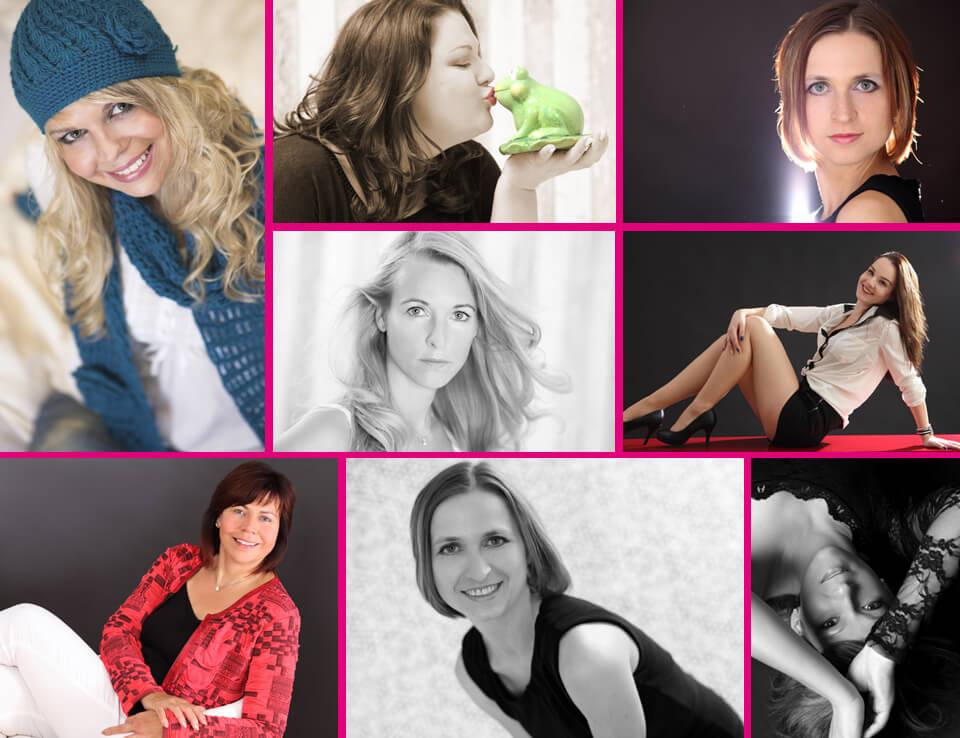 Portrait Fotoshooting Woman im trendsetter Fotostudio