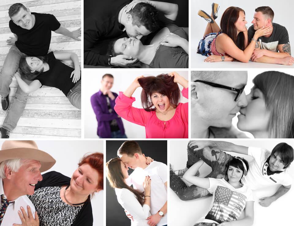 Paar Fotoshooting im trendsetter Fotostudio