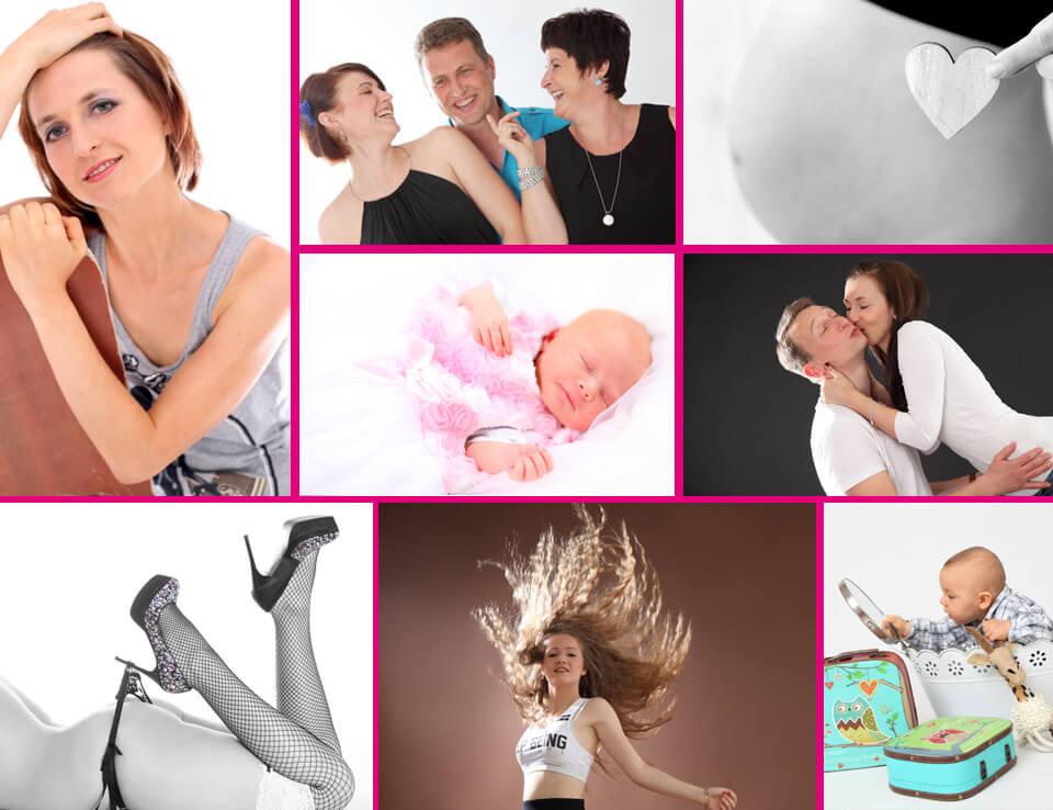Studiofotografie - Portrait, Paar, Familie, Baby, Babybauch oder Erotik im trendsetter Fotostudio Chemnitz Sachsen