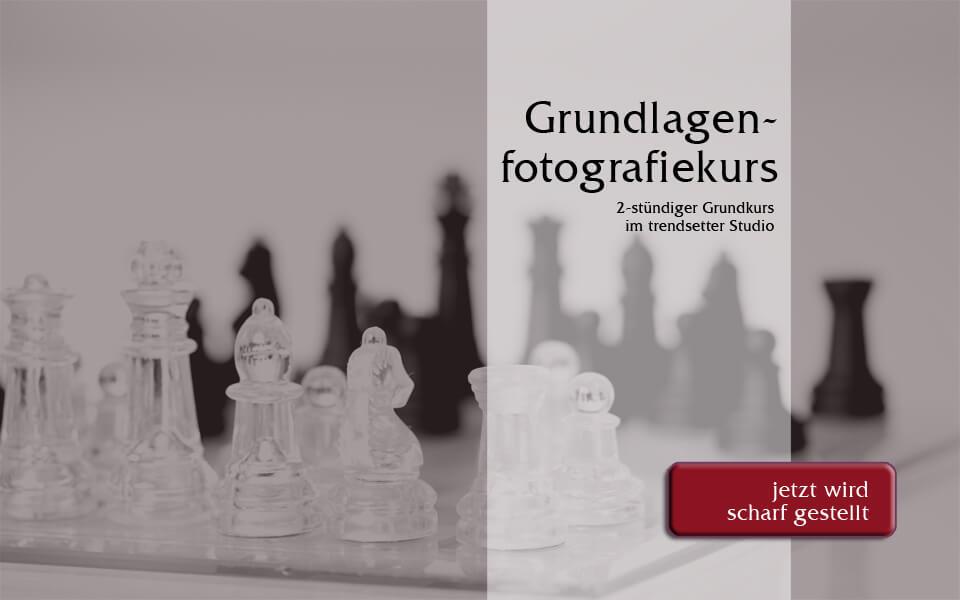 Grundlagenfotografiekurs im trendsetter Fotostudio Chemnitz Sachsen