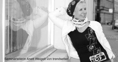 Seminarleiterin Fotografiekurse Anett Weigelt