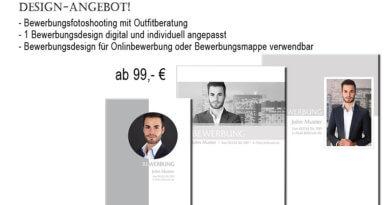 professionelles Bewerbungsdesign vom trendsetter Fotostudio Chemnitz Sachsen
