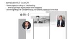 designtes Deckblatt und passender Lebenslauf für Ihre Designerbvewerbung vom trendsetter Fotostudio Chemnitz Sachsen