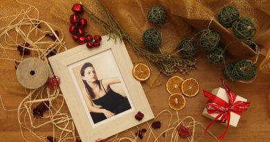 weihnachtliches mit Bilderrahmen aus dem trendsetter Fotostudio