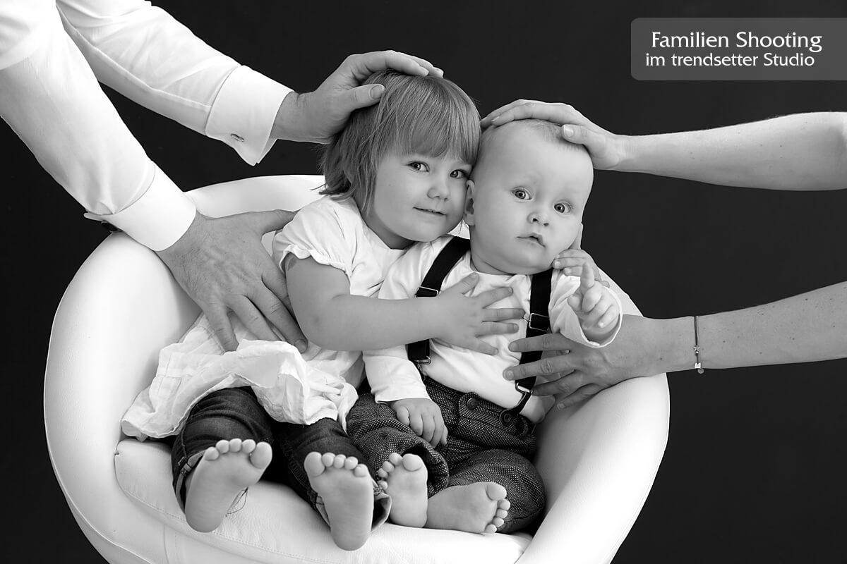kreative Familienfotos im trendsetter Fotostudio in Chemnitz