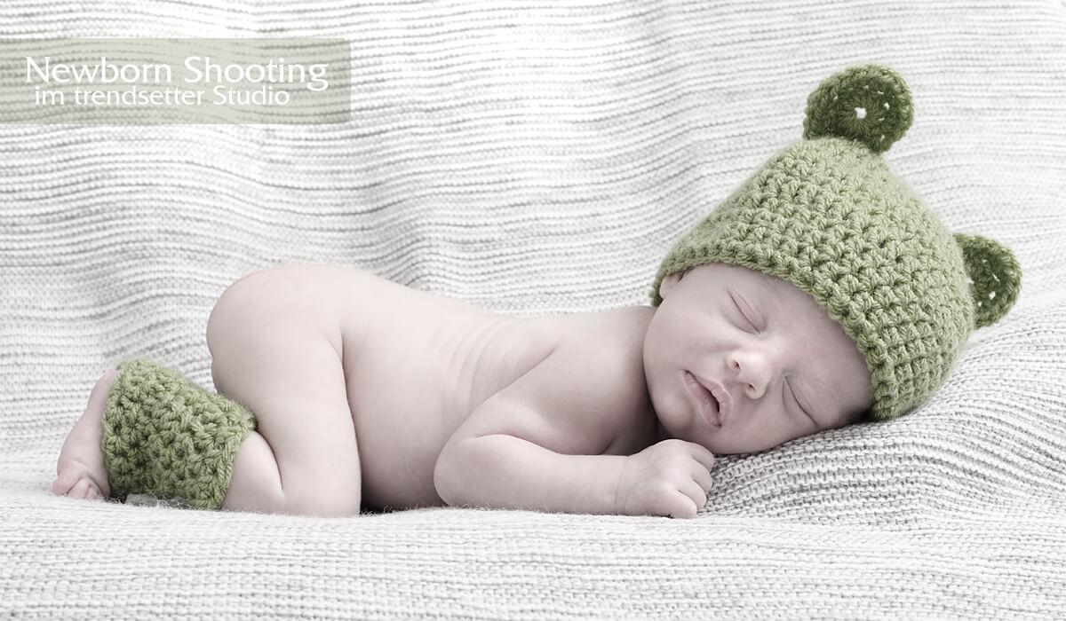 Newborn Fotoshooting im trendsetter Studio Chemnitz