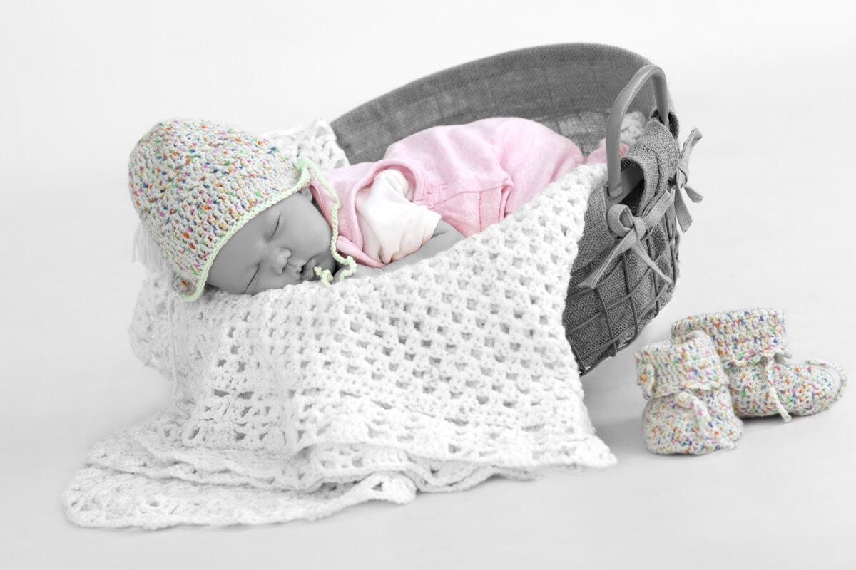 Neugeborenen Fotoshooting im trendsetter Studio Chemnitz