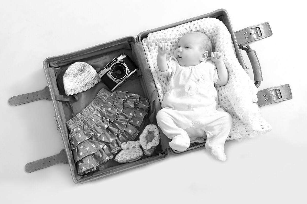 Newborn Fotoshooting im trendsetter Studio