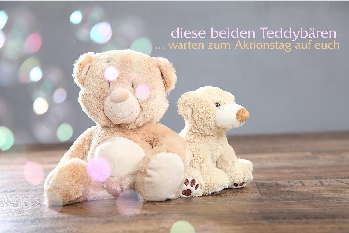 Tag des Teddybären - Aktionsshooting im trendsetter Fotostudio