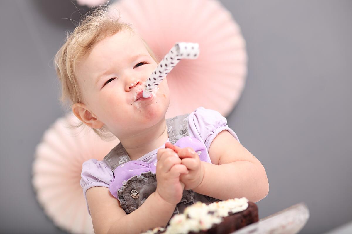 Cupcake oder Tortenshooting in Chemnitz, Tortenfotoshooting im trendsetter Fotostudio zum 1., 2. oder 3. Geburtstag ist immer ein Erlebnis für Groß und Klein.