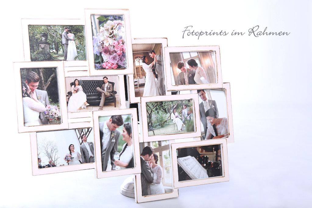 Ein exclusives Hochzeitsfoto in einem hochwertigen Rahmen ist für Ihre Fotos die beste Art sich zu zeigen.