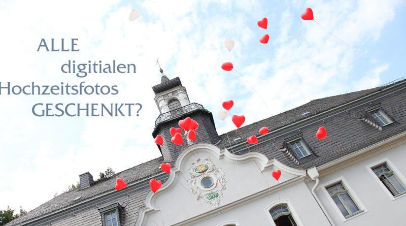 Wer bis zum Valentinstag am 14.02.2019 bei uns seine Hochzeit bucht, bekommt alle digitalen Hochzeitsfotos geschenkt.