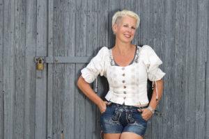 Inhaberin vom trendsetter Fotostudio Anett Weigelt am neuen Standort in Chemnit